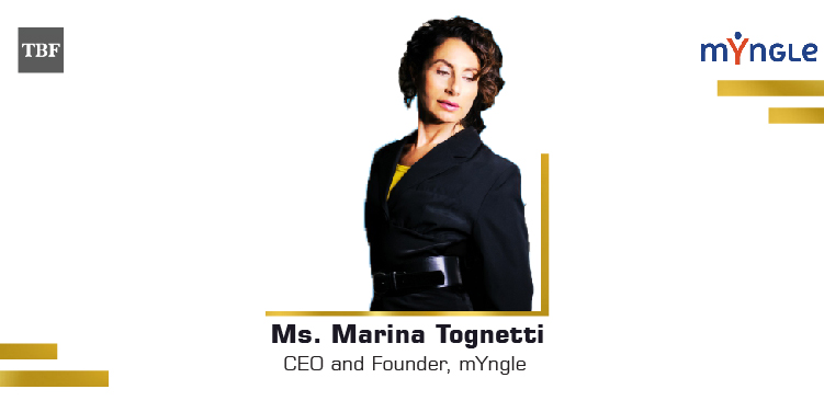 The Business Fame | TBF Marina Tognetti - CEO and Founder - mYngle