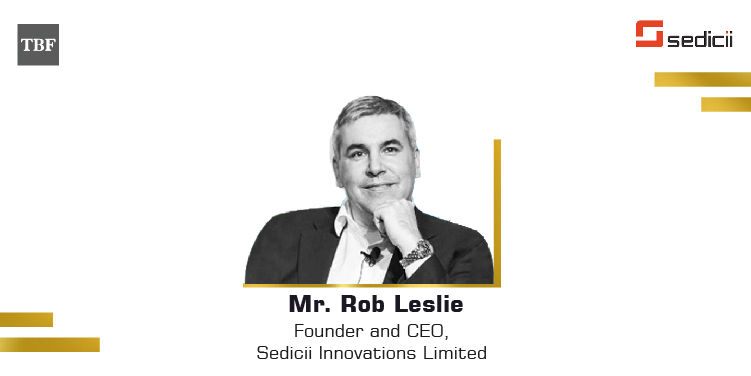 The Business Fame | Mr.-Rob-Leslie-Founder-CEO-Sedicii-Innovations-Limited