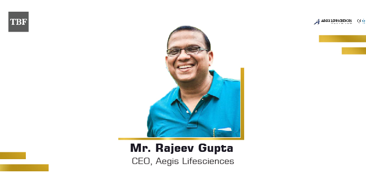 The Business Fame | Rajeev-Gupta-CEO-Aegis-Lifesciences