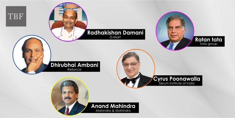 The Business Fame | Top 5 Business Tycoons in India